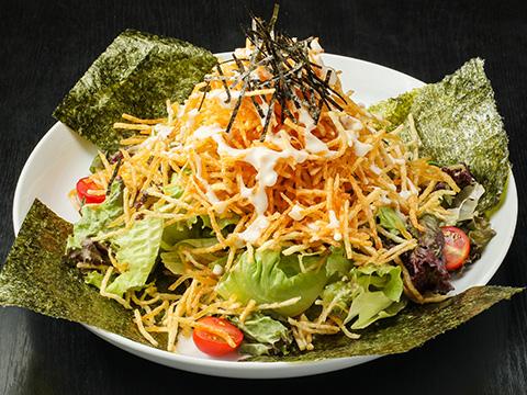 ジャガイモのハリハリサラダ